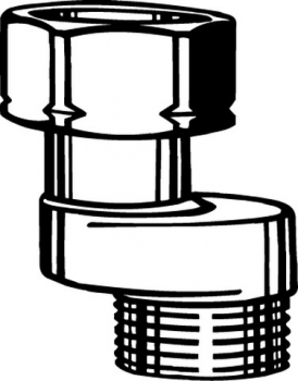 heimeier heizk rper s anschluss 3 4 vernickelt abst nde klo und. Black Bedroom Furniture Sets. Home Design Ideas